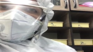 پیام پرستاران بخش عفونی بیمارستان کامکار قم به هموطنان