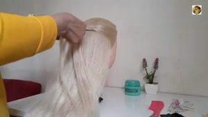 آموزش جدیدترین آرایش موی دخترانه