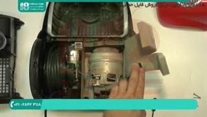 چگونه موتور جاروبرقی را تعمیر کنیم؟