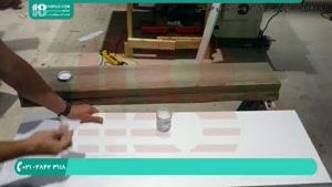 ساخت میز رزین با طرح اپوکسی