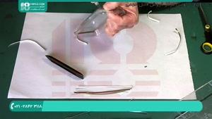 آموزش کشیدن یک طرح زیبا روی ظرف