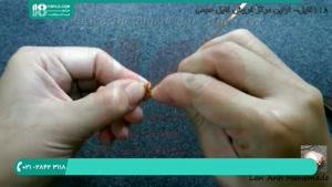 ساده ترین روش ساخت انگشتر با سیم مسی