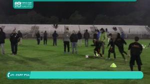 فیلم آموزش پاس کاری و دریبل در فوتبال
