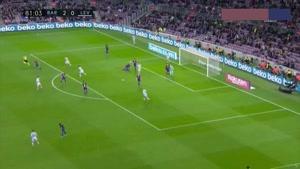 خلاصه بازی بارسلونا - لوانته