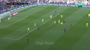 خلاصه بازی بارسلونا و ختافه