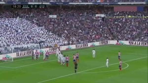 خلاصه بازی رئال مادرید - اتلتیکو مادرید