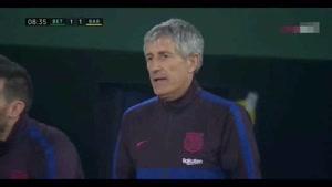 خلاصه بازی بتیس - بارسلونا
