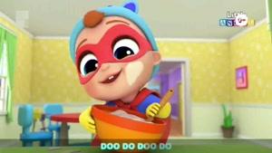 انیمیشن آموزش زبان انگلیسی Little Angel قسمت 176