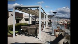 سقف ریموتی رستوران | پوشش ریموتی رستوران | سقف رستوران 021.2