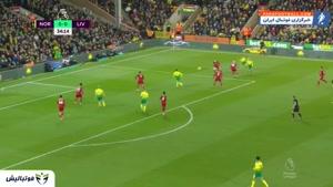 خلاصه بازی نوریچ 0 - لیورپول 1