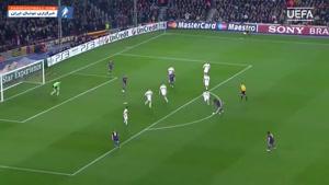 گل های دیدنی از مسی در مرحله یک هشتم لیگ قهرمانان