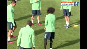 تمرین رئال مادرید