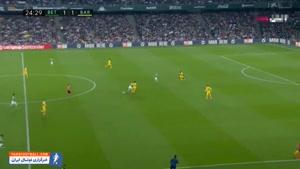 خلاصه بازی رئال بتیس 2 - بارسلونا 3