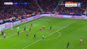 خلاصه بازی اتلتیکومادرید 1-0 لیورپول
