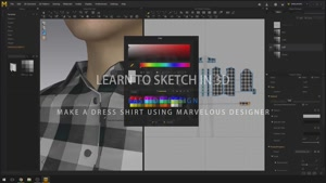 Skillshare – Fashion Design: 3D Dress Shirt using Marvelous