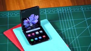 جعبه گشایی سامسونگ Galaxy Z Flip