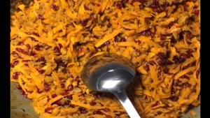 آشپزی نواب ابراهیمی طرز تهیه هویج پلو