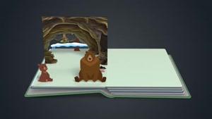 قصه ی شنیدنی خرس کوچولو