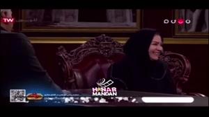 تعجب مهران مدیری از سن اکرم محمدی