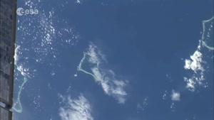 دیدن زمین از فضا