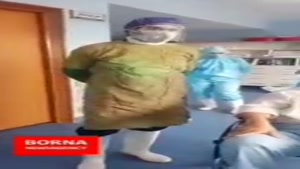بهبودی اولین بیمار کرونایی بیمارستان فرقانی قم