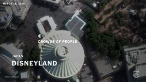 اثر کرونا روی حضور جمعیت در اماکن عمومی تصاویر ماهواره ای
