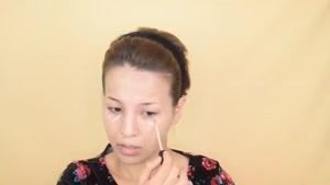 آموزش آرایش کردن بدون آئینه