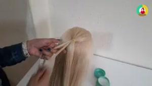 آموزش بافت مو با توضییحات