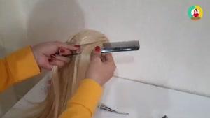 آموزش بافت مو حصیری بسیار جذاب