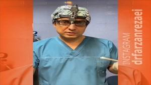 تزریق چربی به پیشانی و چانه همزمان با جراحی بینی