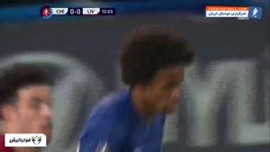 خلاصه بازی چلسی 2-0 لیورپول