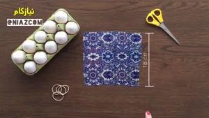 ترفندهای نقاشی روی تخم مرغ