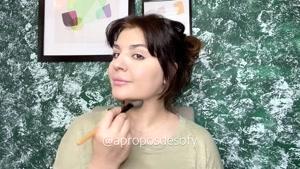 آموزش یه آرایش میکاپ و مو کامل