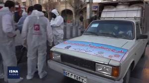 بازار بزرگ تهران به منظور پیشگیری از ویروس کرونا ضدعفونی شد