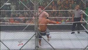 مسابقه در قفس بین شیماس و جان سینا 2010
