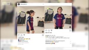 واکنش لیونل مسی به ویدیو آرات حسینی