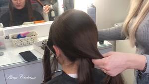 آموزش شنیون موی عروس