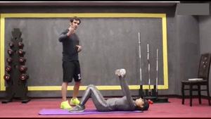 بدنسازی کل عضلات بدن در خانه