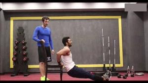تمرین عضلات سرشانه و سینه در خانه