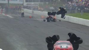 از دست دادن کنترل خودرو در مسابقات شتاب (درگ)