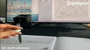 ربات تقلید کننده ی دست خط