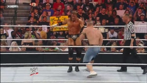 مبارزه عنوان بین جان سینا و تریپل اچ در 2008