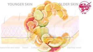 جلوگیری از شل شدن پوست با ویتامین سی