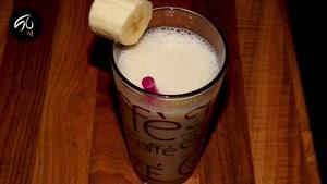 فواید شیر موز