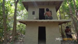 ساخت یه خونه جنگلی خفن و شیک فقط با دست!