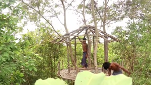 ساخت خونه درختی (بخش اول)