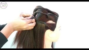 آموزش مدل موی زنانه برای عروسی