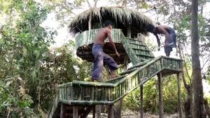 ساخت خونه درختی (بخش دوم)
