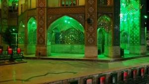مراسم مناجات شب های ماه رمضان