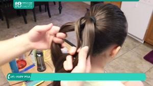 آموزش مرحله به مرحله 8 مدل بافت مو